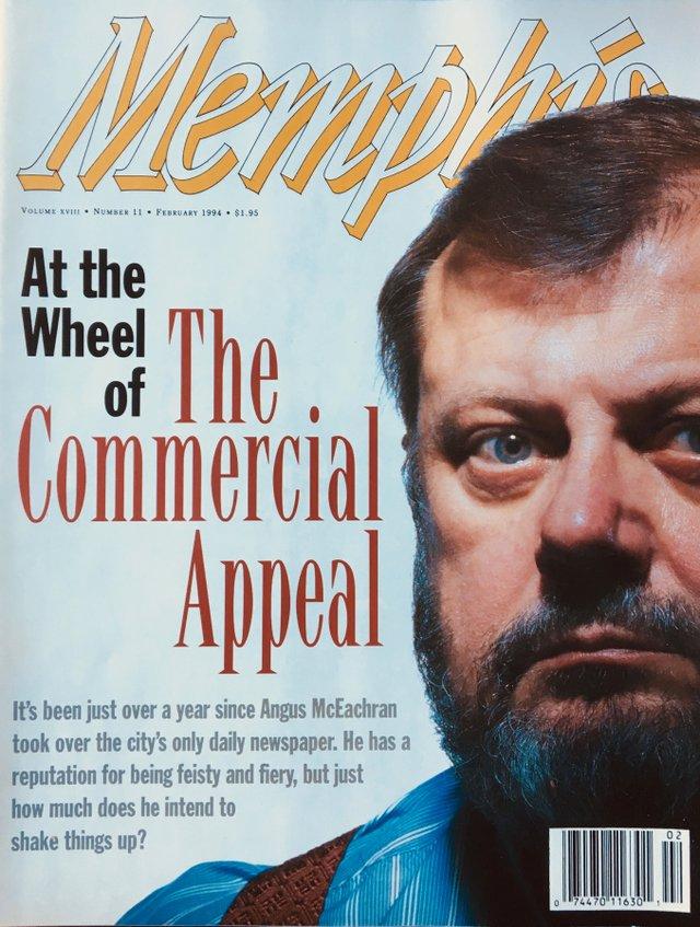 Angus McEachran February 1994 MM cover