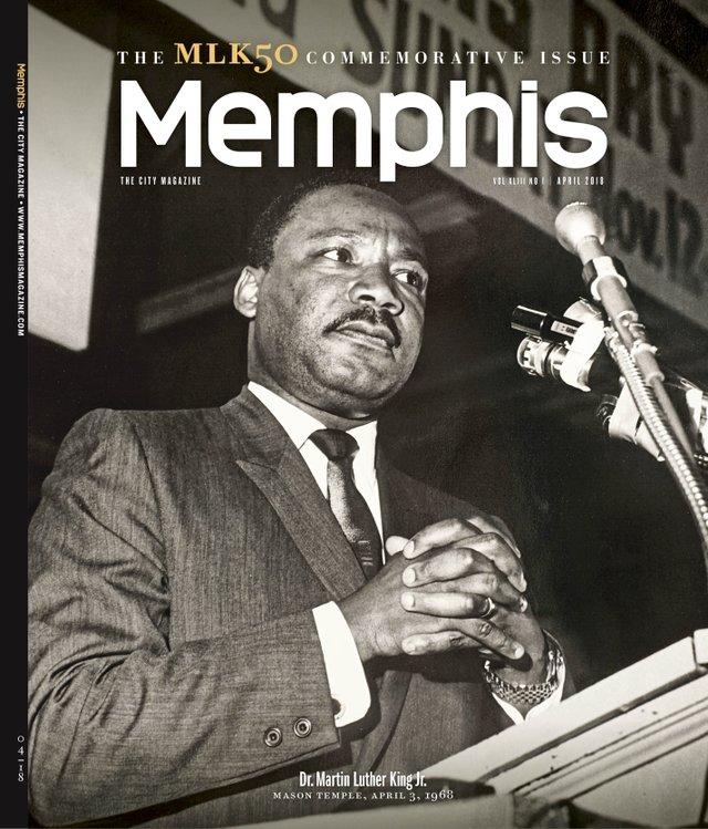 Memphis magazine, April 2018