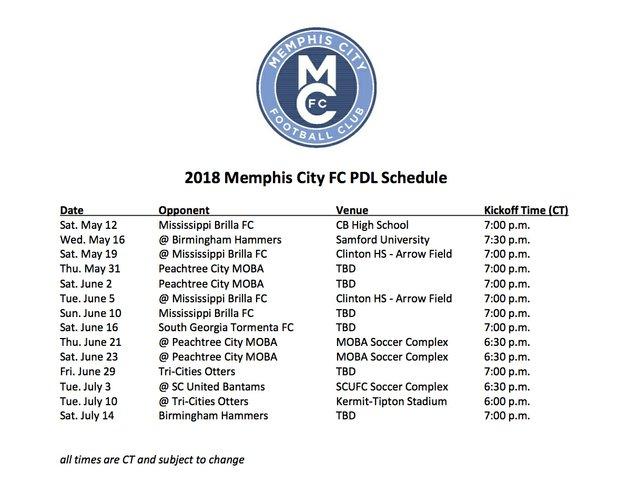 2018 Memphis City FC PDL Schedule.jpg