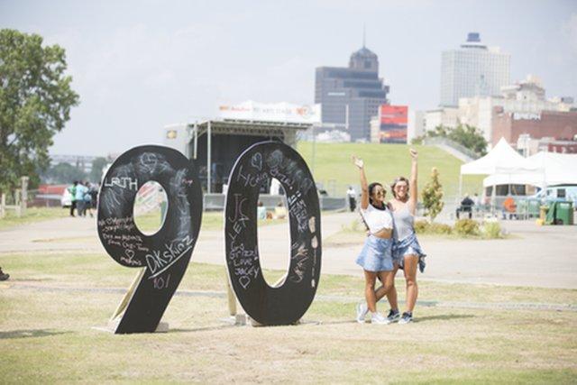 901 Fest, Tom Lee Park