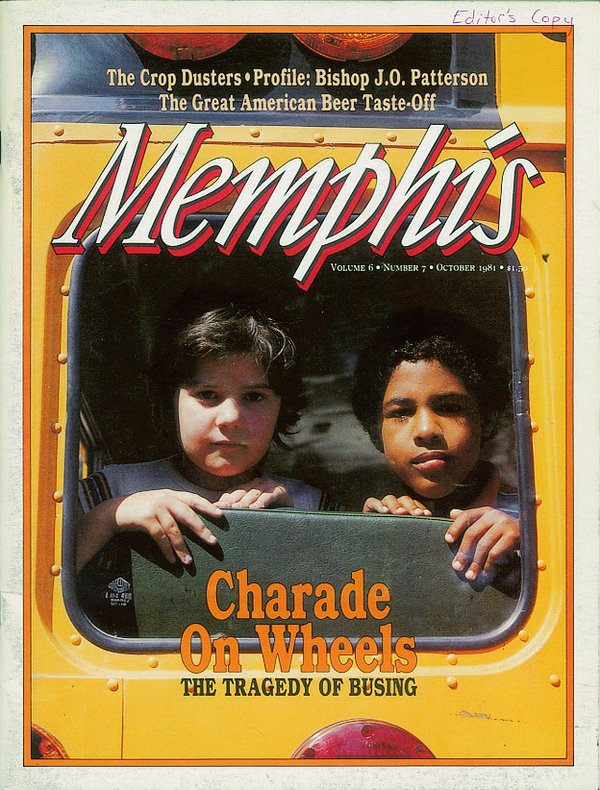 Memphis magazine, October 1981