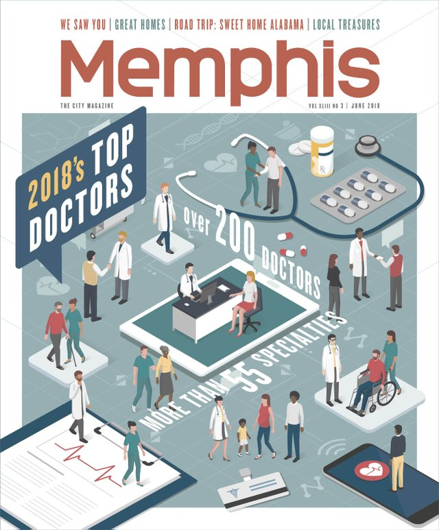 Memphis magazine, June 2018