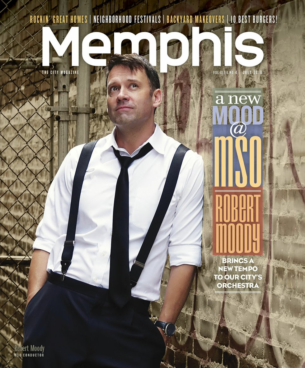 Memphis Magazine Cover July 2018