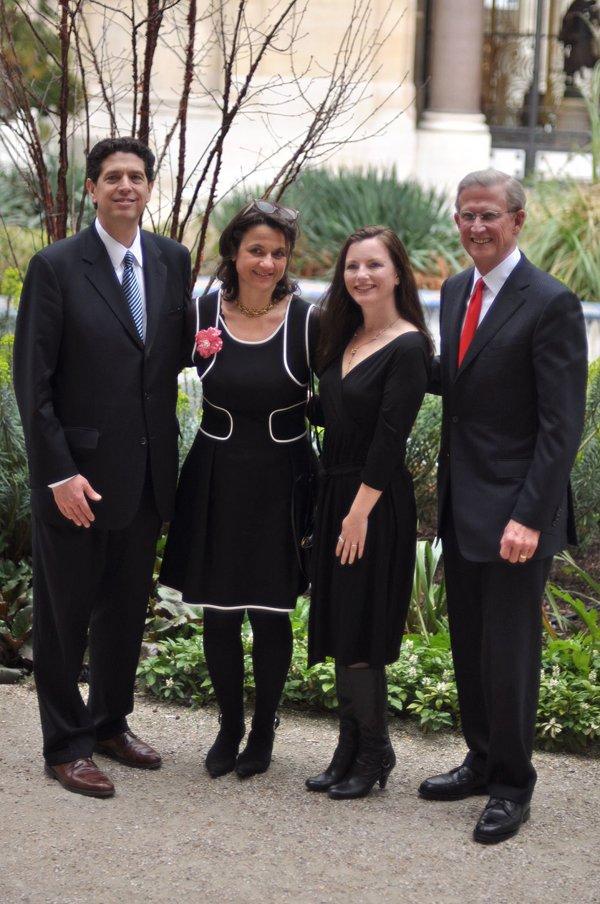 L-R: Kevin Sharp, Florence Valdes-Forain, Erin Riordan, Steve Reynolds
