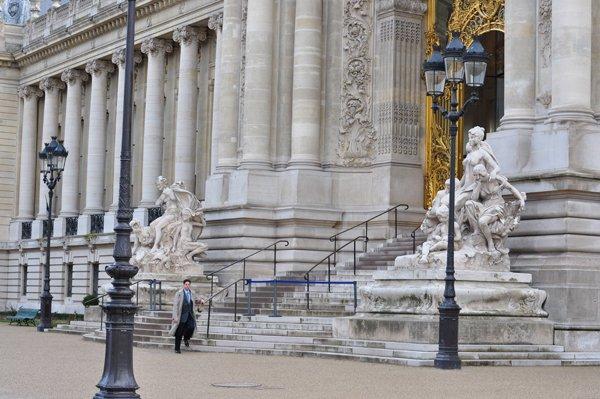 Kevin Sharp at the Petit Palais