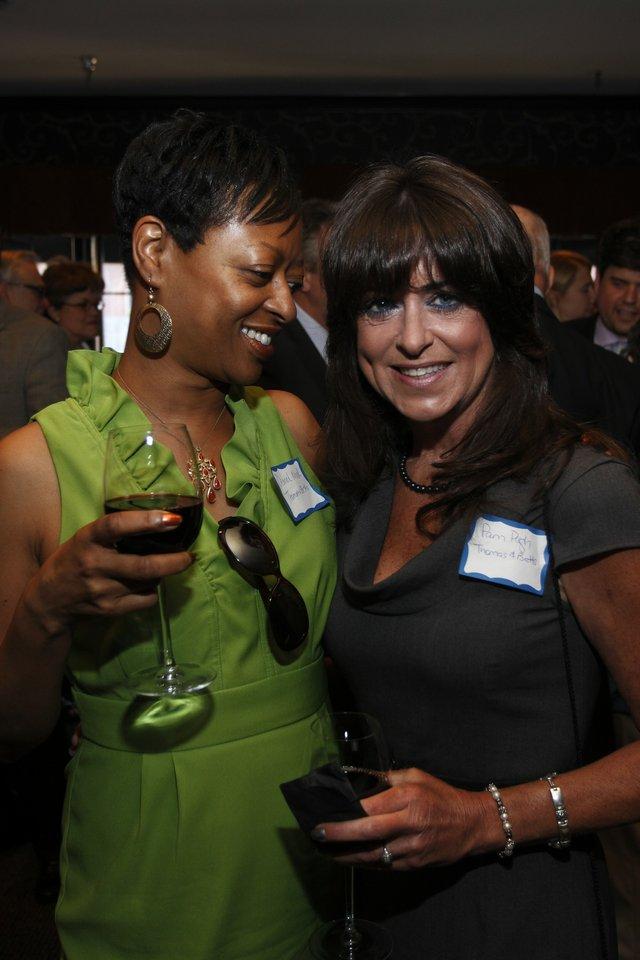 L-R Deanna Mack and Pam Pugh