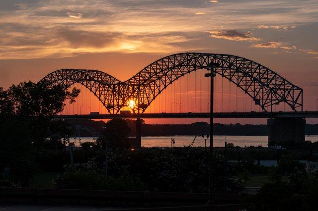 Memphis DeSoto Bridge