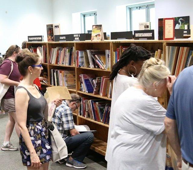 Friends Fall Book Sale, Benjamin Hooks Library