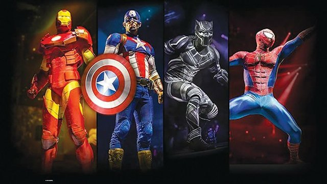 Marvel Universe Live, Landers Center