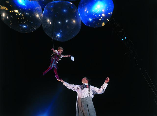Helium Dance from CORTEO, FedExForum