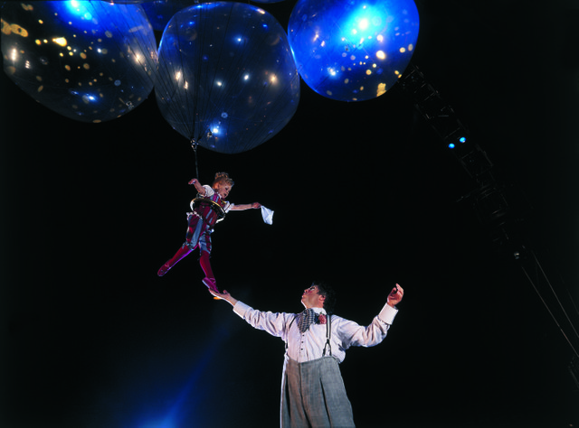 Helium Dance from CORTEO, FedExForum