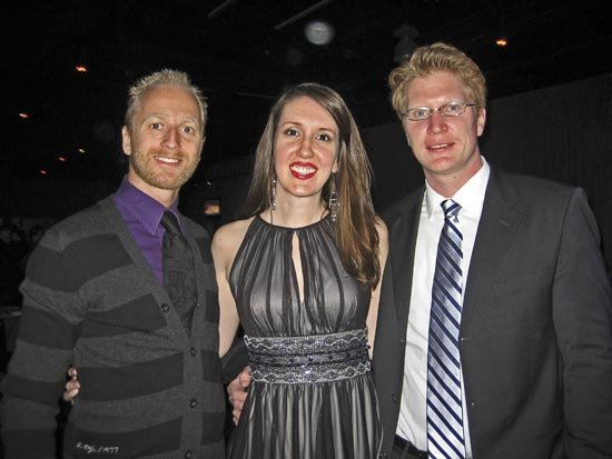 Frederik Kolderup, Angela Copeland, and Dirk Scholvin