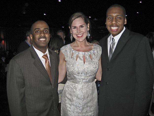 DeJuan Hendricks, Audra Bares, and Marcus Washington
