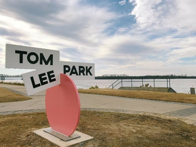 Tom Lee Park Engagement Center Grand Opening, Beale Street Landing