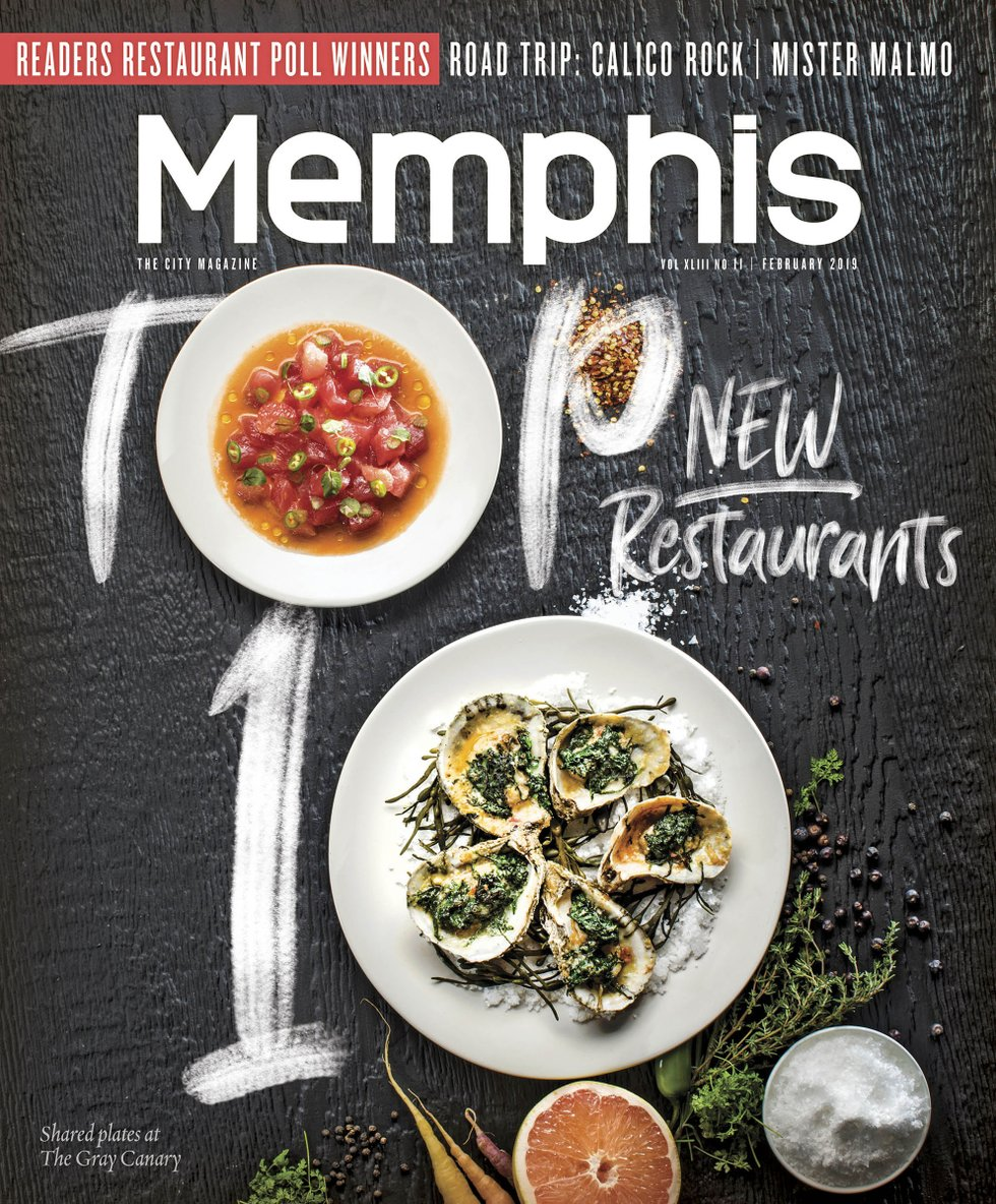 Memphis Magazine, February 2019