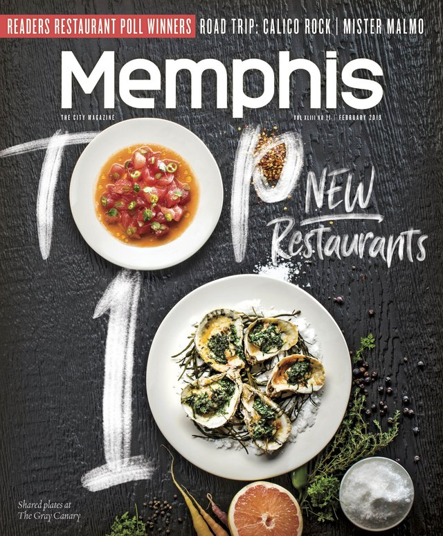 Memphis Magazine, February 2019