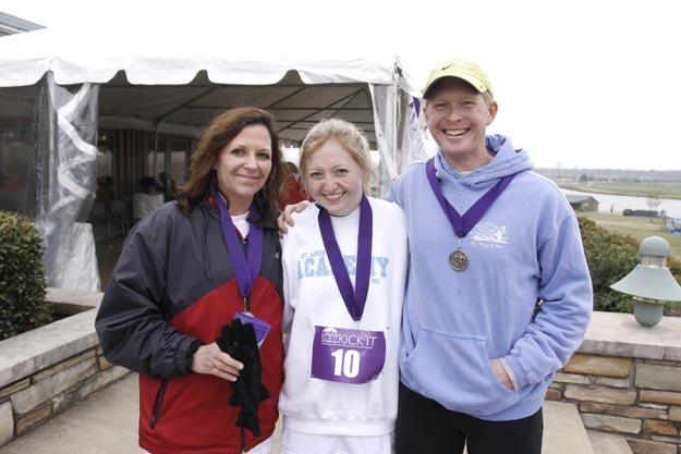 Robin Behrman, Caroline Behrman, and Dr. Stephen W. Behrman