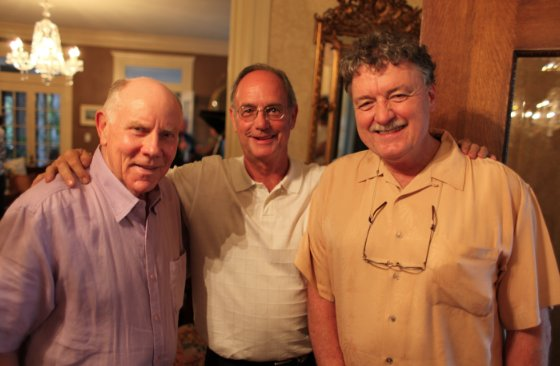 Nick Gotten, Jimmy Ogle, and Ken Neill