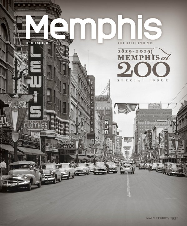 Memphis Magazine, April 2019