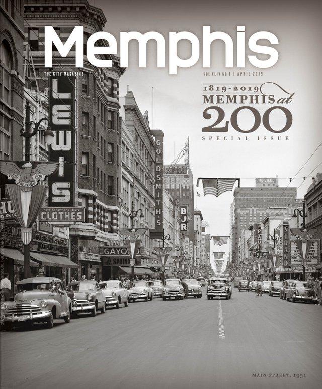 Memphis Magazine, April 2019