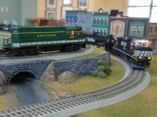 Toy and Model Train Show, St. George's Episcopal Church