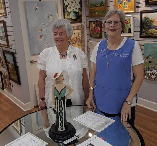 Opening reception for the Woman's Exchange of Memphis Gallery Show