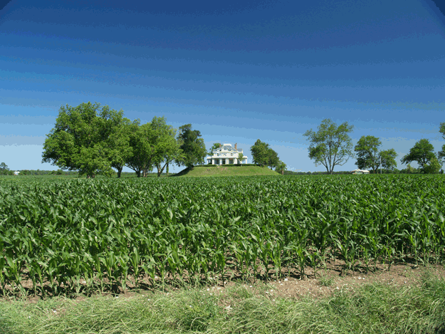 Mt. Helena Plantation at Rolling Fork, Mississippi