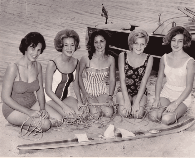 Miss McKellar Lake finalists, 1964