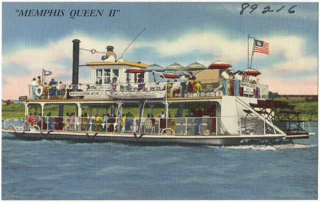 International Carnival on the River: Rep Your Flag, Memphis Riverboats