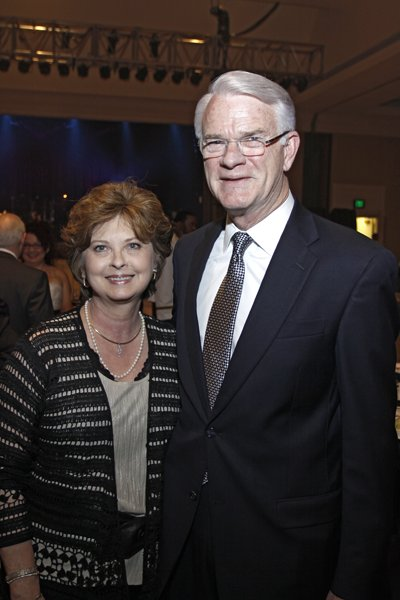 Pat and Mayor Mark Luttrell