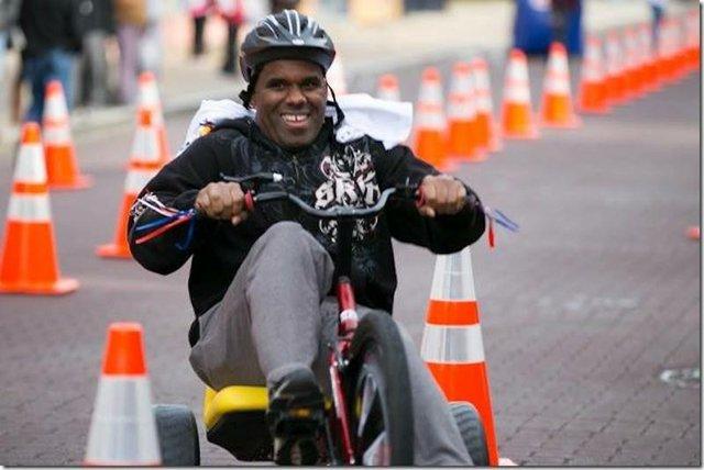 Big Wheel Relay Race, Beale Street