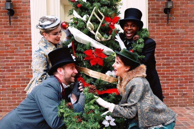 A Victorian Holiday, The Dixon Gallery & Gardens