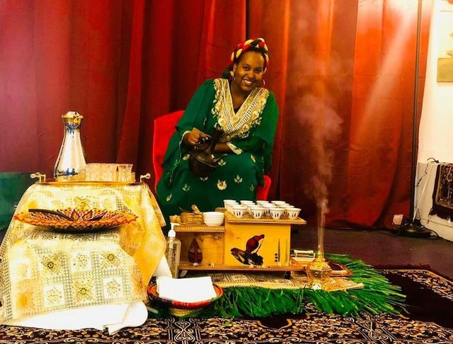 Ethiopian Coffee Ceremony, Oothoon's