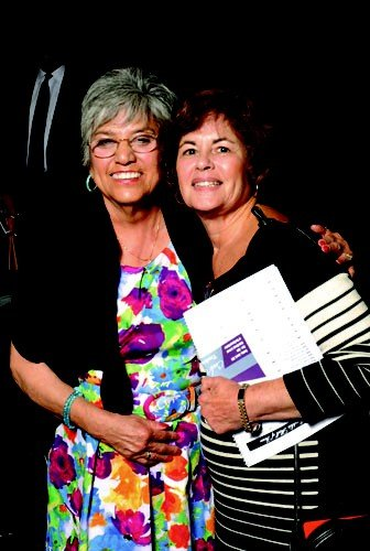 Fran Childers (mother of honoree Ron Childers) & Susan Sanford