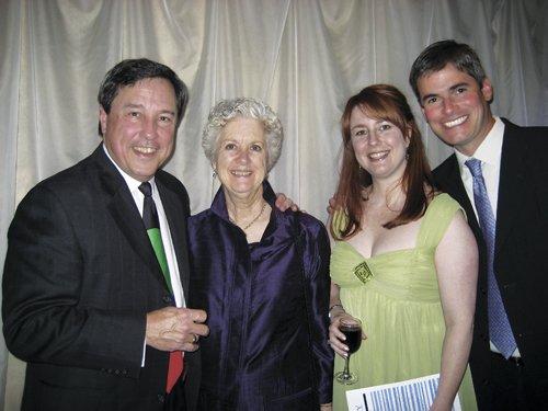 Dan Conaway, Nora Conaway, Hallie Conaway, & Kyle Schorman