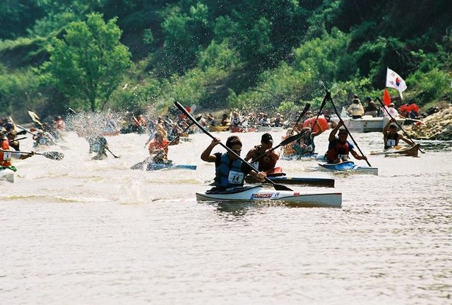 Outdoors Inc Canoe and Kayak Race, Online