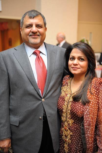Furhan Yunus and Lily Herbert