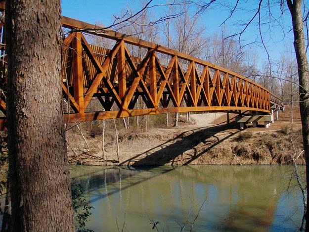The Greenline's new Wolf River Bridge