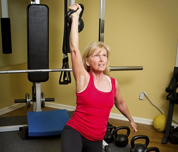 Personal trainer Donna Hughes