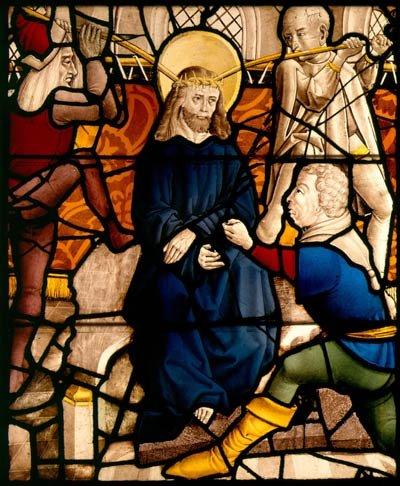 German (Cologne)  MOCKING OF CHRIST, 1485-1510