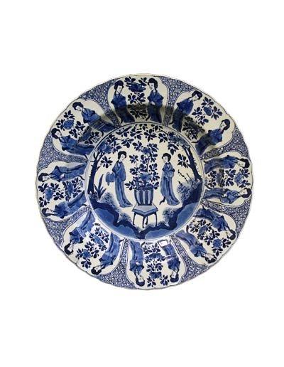 Chinese  DISH, ca. 1662-1722