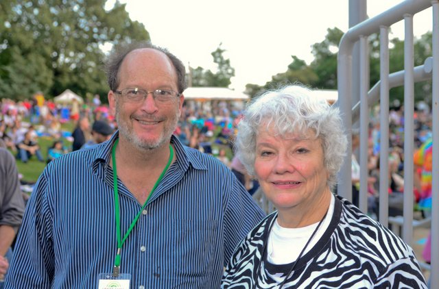 Barry Lichterman and Mary Lindsay Dickinson