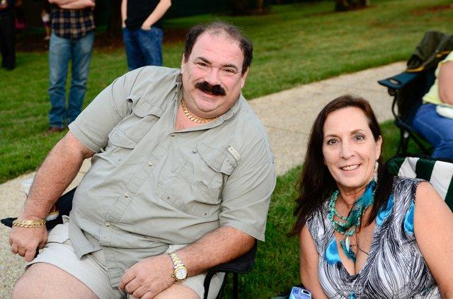 Kris Kourdouvelis and Sharon Gray