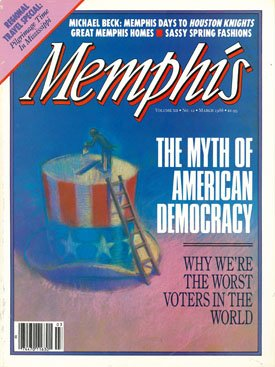 March 1988 Memphis magazine cover