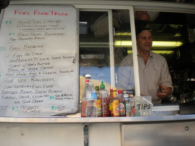 Eric Proveaux and the Fuel Cafe food truck is at Cooper Young Farmers Market on Saturdays.