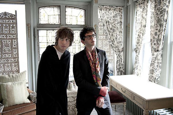 MGMT: Andrew VanWyngarden and Benjamin Goldwasser