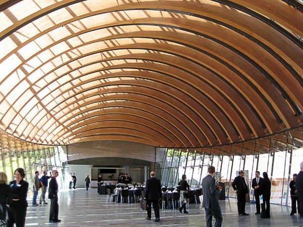 Crystal Bridges openning reception