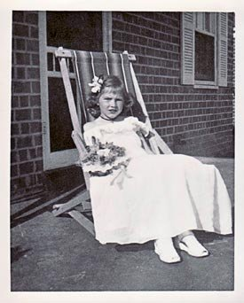 Stella as a child in Memphis