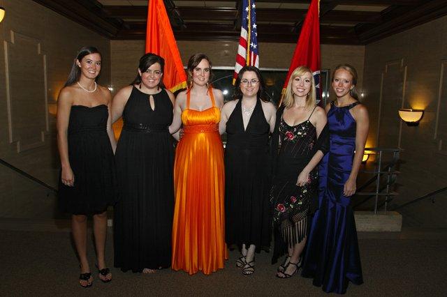 Nan Spicer, Laura Becca Daily, Dee Helton (President, UTHSC Student Government Association Executive Council), Pamela Matthews, Teresa Bell & Andrea West
