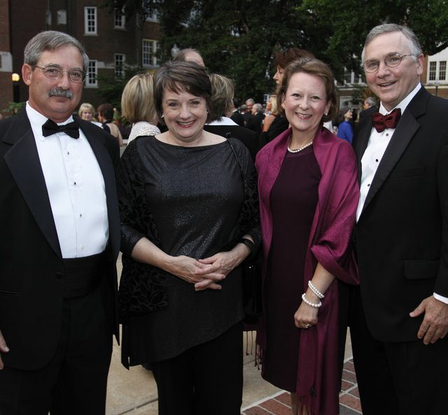 Don & Meri Armour (President & CEO of Le Bonheur Children's Hospital) and Susan & Bill Warner